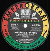 Imperial Steppers - Mercy Gone / Version / Horns vs Melodica (Emperorfari) 12""